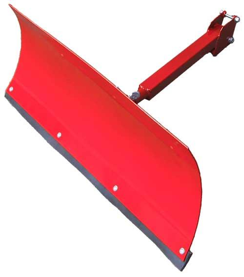Как сделать лопату на мотоблок для уборки снега своими руками