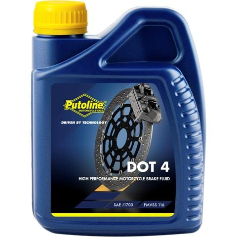 PUTOLINE Brakefluid DOT 4 500ml P74040